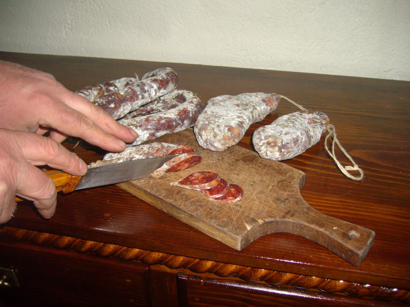 Salame crudo di Albidona